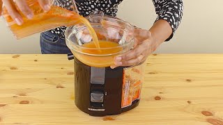 Black and Decker JE2200B 400 Watt Fruit and Vegetable Juice Extractor Review