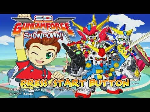 SD Gundam Froce down!  Part 1:  Captain Punch!!!!