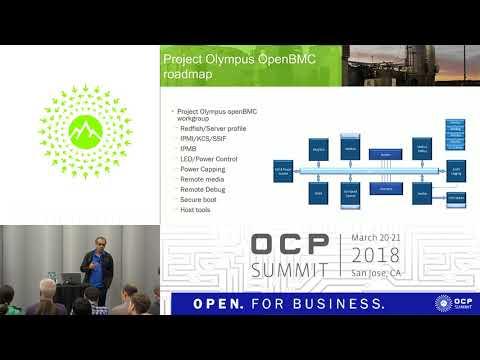 OCPUS18 –OpenBMC on Project Olympus