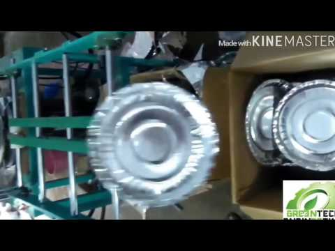Fully Automatic Paper Plate Making Machine 1280x720 By Greentech Engineering, Surat