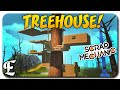 Scrap Mechanic ➤ EPIC TRANSFORMING TREEHOUSE! [Scrap Mechanic Gameplay & Guide/Tutorial]