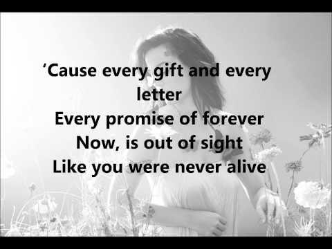 Ghost - Katy Perry - Lyrics