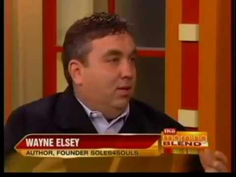 Wayne Elsey, Founder of Soles4Souls Book Tour