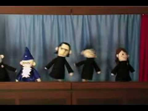 Harry Potter Puppet Pals - The Mysterious Ticking Noise (Video With Lyrics)