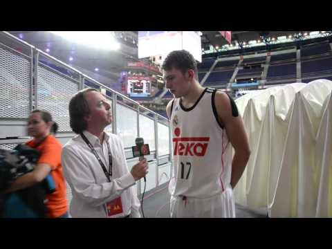 ANGT Madrid, MVP Interview: Luca Doncic, Real Madrid