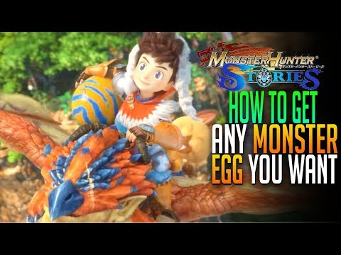 How To Get The Monsties You Want Monster Hunter Stories Android