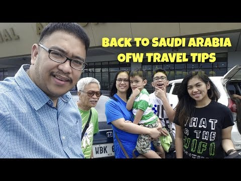Back To Riyadh, Saudia Airlines Check In & OFW Refund Tips