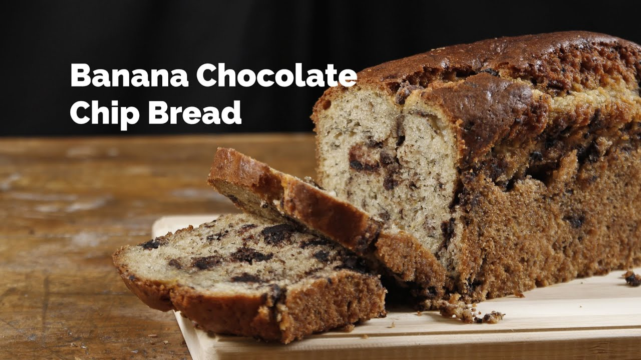 Banana chocolate chip bread recipe yummy ph youtube banana chocolate chip bread recipe yummy ph forumfinder Image collections