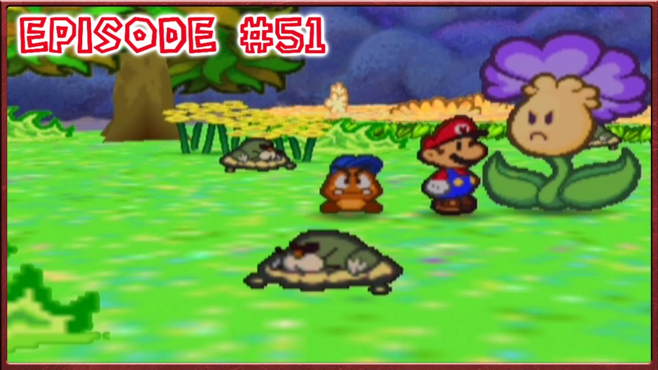 Paper Mario Flower Fields Petunias Pest Problem Episode 51