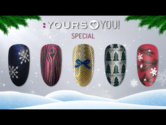 :YOURS Loves YOU SPECIAL  I WINTER NAIL ART INSPIRATION