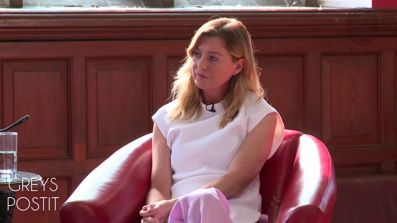 Ellen Pompeo Speaks About Patrick Dempsey