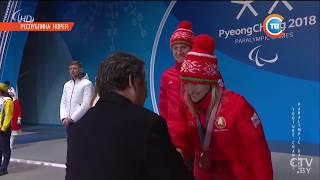 Два серебра и две бронзы у белорусов! Паралимпиада-2018 в Пхенчхане: день первый