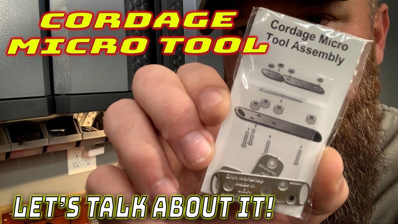Cordage Making Micro Tool
