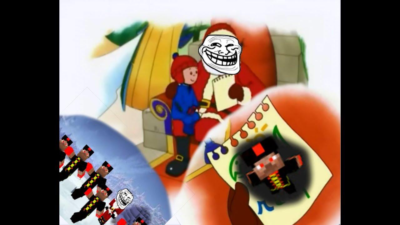 Caillou Weihnachten.Caillou Verarsche Weihnachten Mit Bauagentur 3