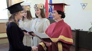 XXI церемония вручения дипломов магистра