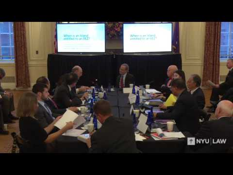 2016 Gelatt Dialogue: When is an Island Entitled to an EEZ?