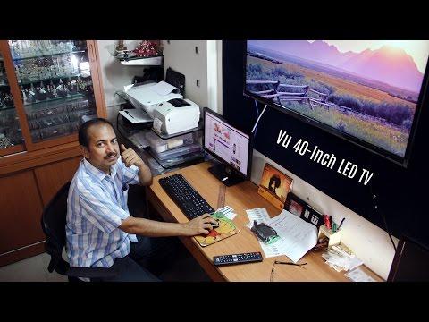 TV Review: Vu 40-inch LED (Hindi)