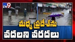 Heavy rains lash Madya Pradesh - TV9