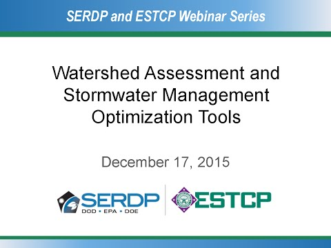 Watershed Assessment and Stormwater Management Optimization Tools