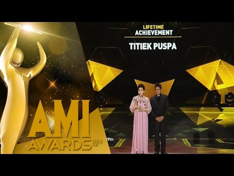 Lifetime Achevement Titiek Puspa [Ami Award] [2016 29 Sept 2016]