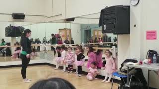 Ballet (dance) class at Community Centre