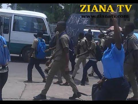 CONGO BRAZZA. Collège Nganga Edouard: après la visite de la ministre Doukaga, des élèves tombent...