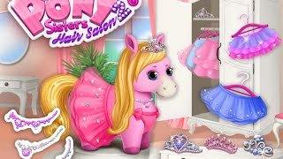 Pony Sisters Hair Salon 2 - TutoTOONS Educational Education - Videos games for Kids - Girls - Baby