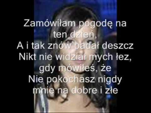 """Monika Brodka """"Miał być ślub"""" karaoke + słowa"""