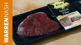 Iceland Ostrich Fillet Steak Review - Food Reviews By Warren Nash