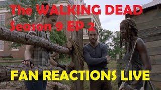 The Walking Dead Season 9 - Episode 2 FAN REACTIONS LIVE