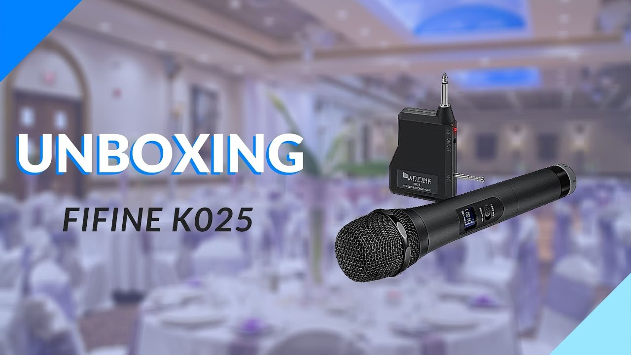 FiFine K025 Wireless Microphone - Unboxing & Review
