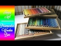 Happy Mail, Unboxing, Mont Marte pastel box: Wooden Pencil Box