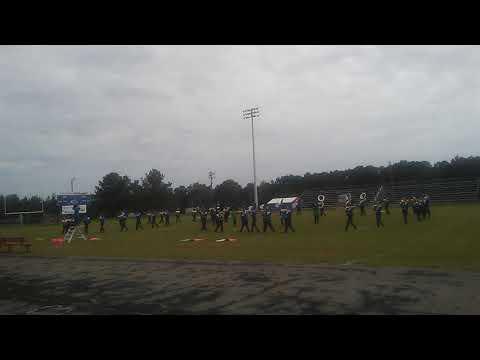Copiah academy marching festival crystal Springs high school band