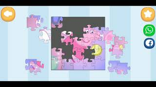Peppa Pig Fun Jigsaw Puzzle Video For Kids Apps Gameplay