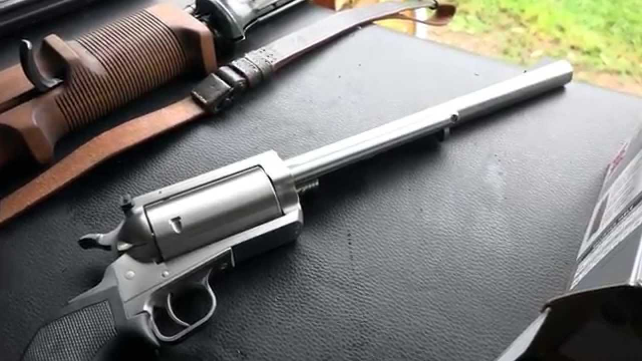 Magnum Research Bfr Revolver 45 70 Government Youtube