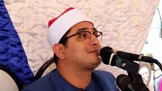 قارئ العالم الأول الشيخ محمود الشحات وروعه في اخر المائده قرقيره السنبلاوين دقهلية