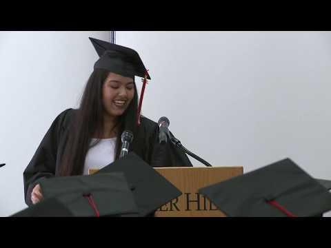 BHCC's Community College Initiative Program Graduation 2017