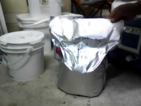 Pre-Food Storage Prepping Video