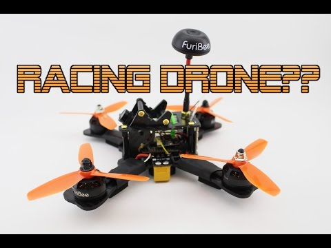 Furibee 180 Race Drone Review + Flight footage