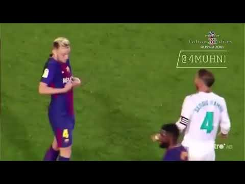 El clasico friends moments barcelona and real madrid friendship moments