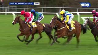 2018 JCB Triumph Hurdle - Farclas - Racing TV