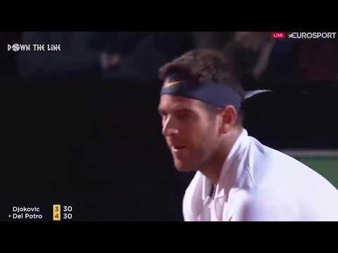 Novak Djokovic vs Juan Martin del Potro Rome Open 2019