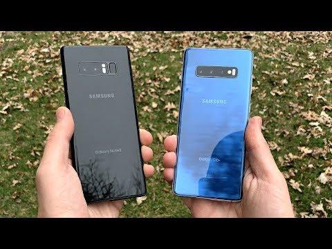 Galaxy Note 8 Vs Galaxy S10 Plus!