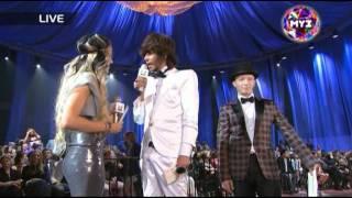 Разборка Зверева и Собчак на премииМуз ТВ 2011