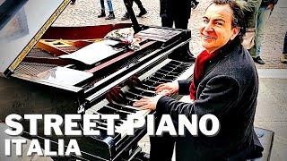 🎹 ASTONISHING STREET PIANO PERFORMANCE BY PAOLO ZANARELLA [PADUA, ITALY]
