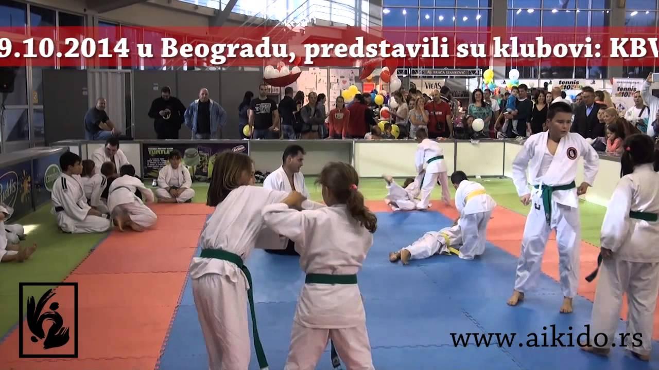 Srpski aikido savez na dečijem sajmu 19.10.2014