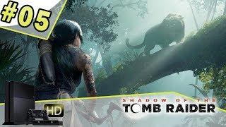 SHADOW OF THE TOMB RAIDER - Let's play épisode 05 [PS4] Rencontre avec la bête