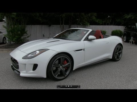 2014 Jaguar F-Type V8 S Start Up, Exhaust, and In Depth Review