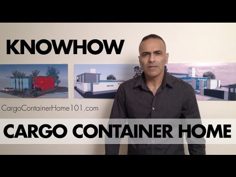 Cargo Container House, Cargo Container Home, Shipping Container Home, DIY house, ISBU Home