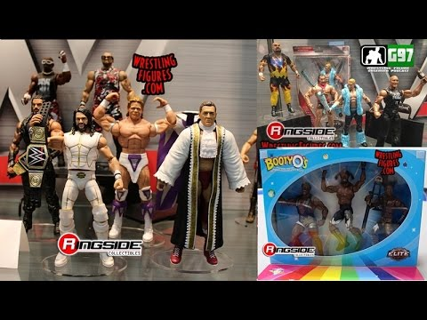 WWE Mattel SDCC 2016 Display Review - Elite 45 - New Day | Wrestling Figure Observer Podcast #6
